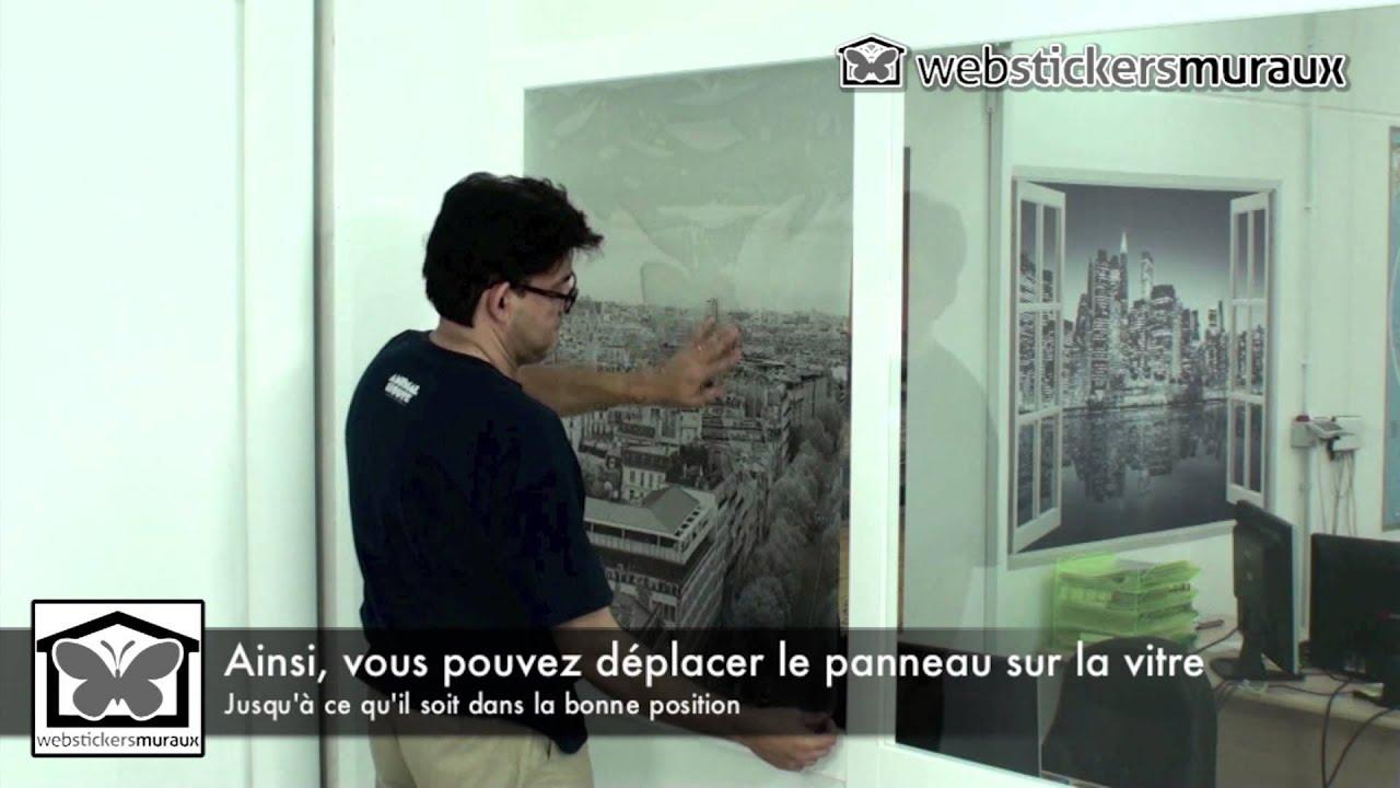 Papier peint vinyle translucides instructions de pose hd youtube - Pose papier peint vinyle ...