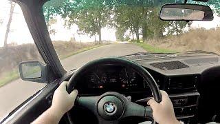1985 E28 BMW 535i - WR TV POV Test Drive