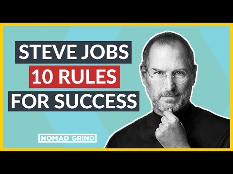 💻💰STEVE JOBS 10 Rules For SUCCESS