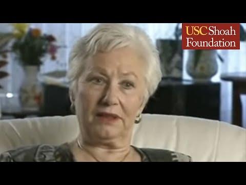 Holocaust Survivor Renée  Firestone  Testimony