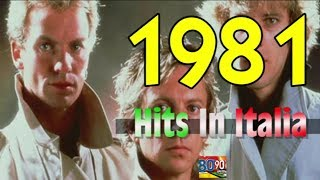1981 - Tutti i più grandi successi musicali in Italia