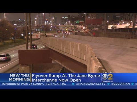 Part Of Jane Byrne Flyover Opens