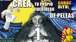 COMO CREAR TU PROPIO VIDEOJUEGO DE PELEAS PARTE 1 | COMO DESCARGAR MUGEN 1.0