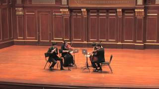 Mozart Flute Quartet in C, K.285b: II. Theme and Variations