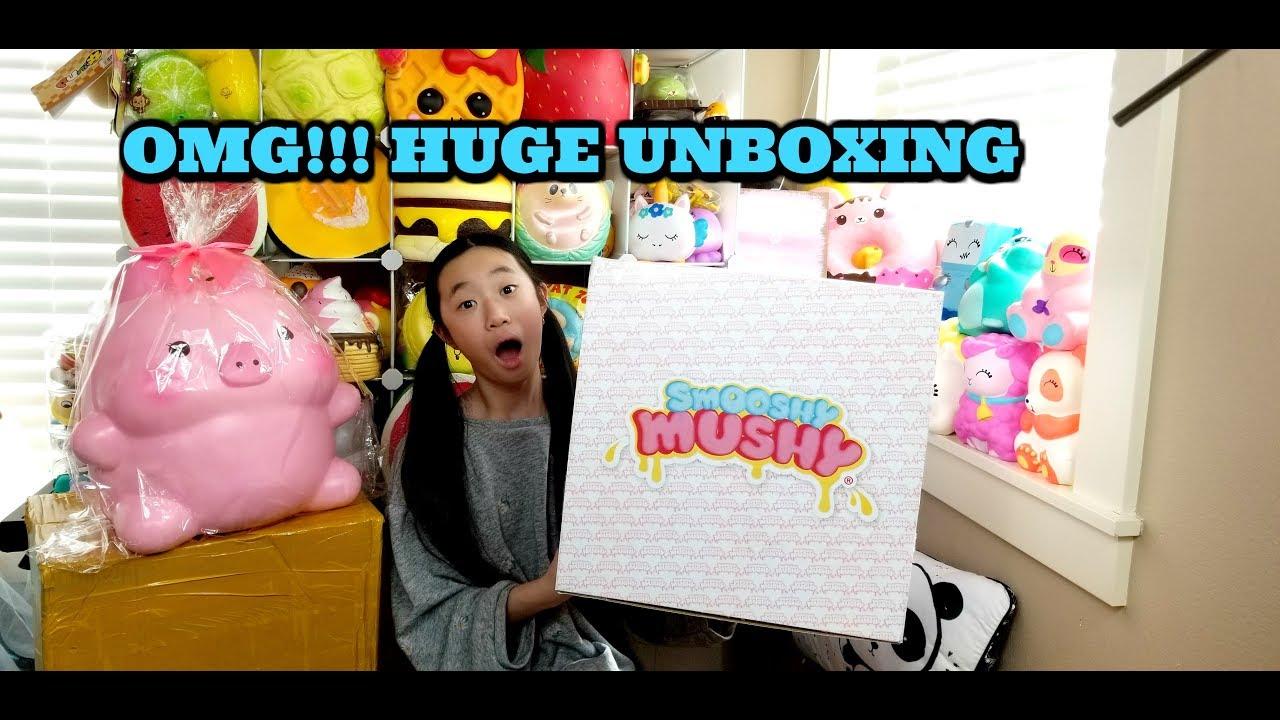 HUGE SMOOSHY MUSHY SWAG BOX UNBOXING