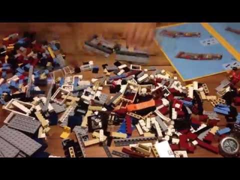 LEGO Creator 31026 Bike Shop & Café - Timelapse Build