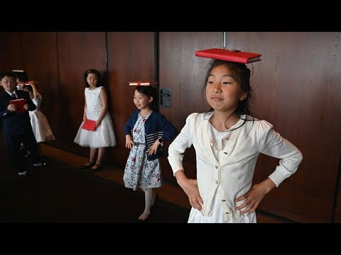 Children of Chinese elite walk red line to 'perfection' thumbnail