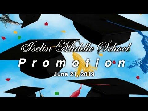 Iselin Middle School, Promotion: 2019