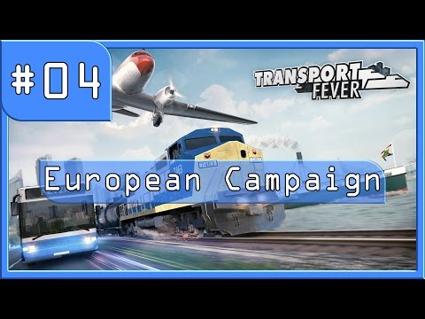 Let's Build a transport empire - Transport Fever European mission 2 part 1 (Scotland)