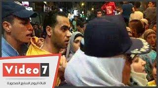 عقيد شرطة نسائية تلقن متحرش علقه ساخنة بسينما مترو