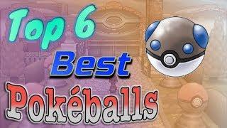 Top 6 Best Pokéballs (No Master Ball!)