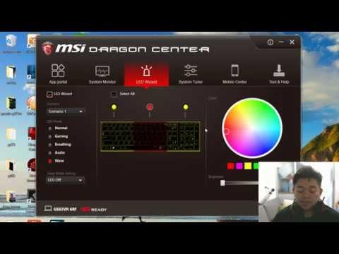 แนะนำ Dragon Center จาก MSI แอปที่ทำได้ทุกอย่าง ปรับสีไฟ รอบพัดลม ความแรง ความร้อน