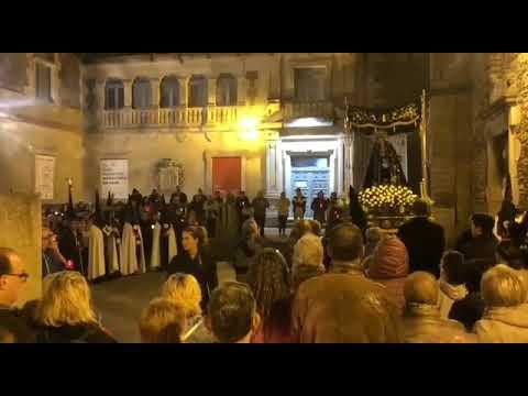Procesión de la Virgen de la Soledad 'As Caladiñas', en Lugo
