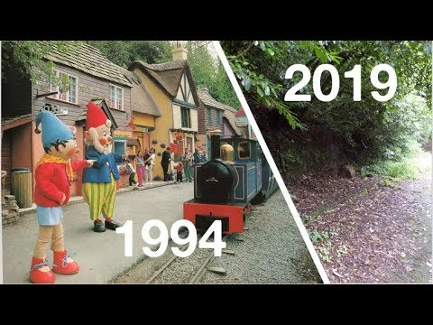 Crinkley Bottom 25 Years On... Then And Now 1994-2019 | Dunblobbin | Mr Blobby