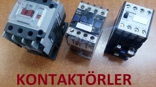 Kontaktörler ve Çalışması _ Manyetizma Serisi -3-
