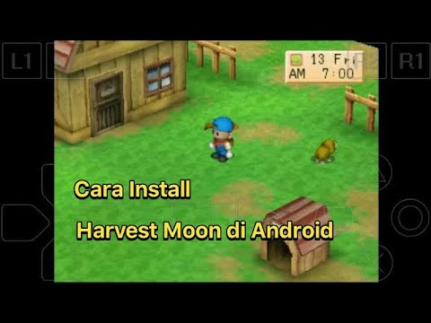 Cara Download Dan Install Harvest Moon Back To Nature Di Android - TERBARU 2019
