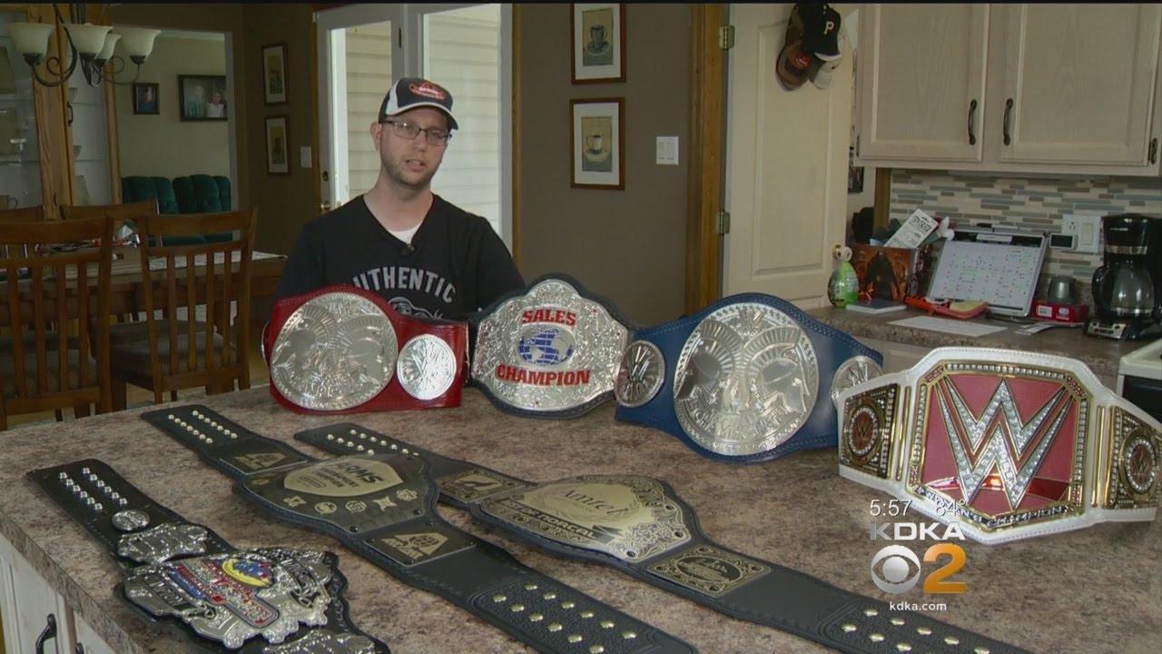 One Man Business Crafts Championship Belts