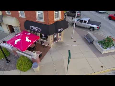 Drone View Of Cary Il
