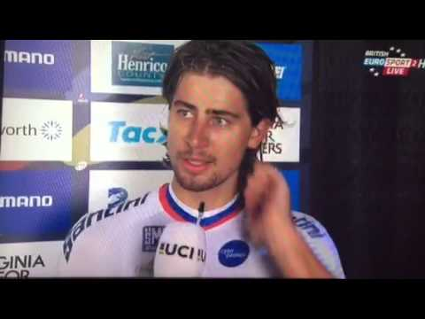 Peter Sagan World Champion 2015 the interview showing his heart
