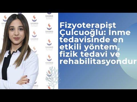 Fizyoterapist Çulcuoğlu: İnme tedavisinde en etkili yöntem, fizik tedavi ve rehabilitasyondur