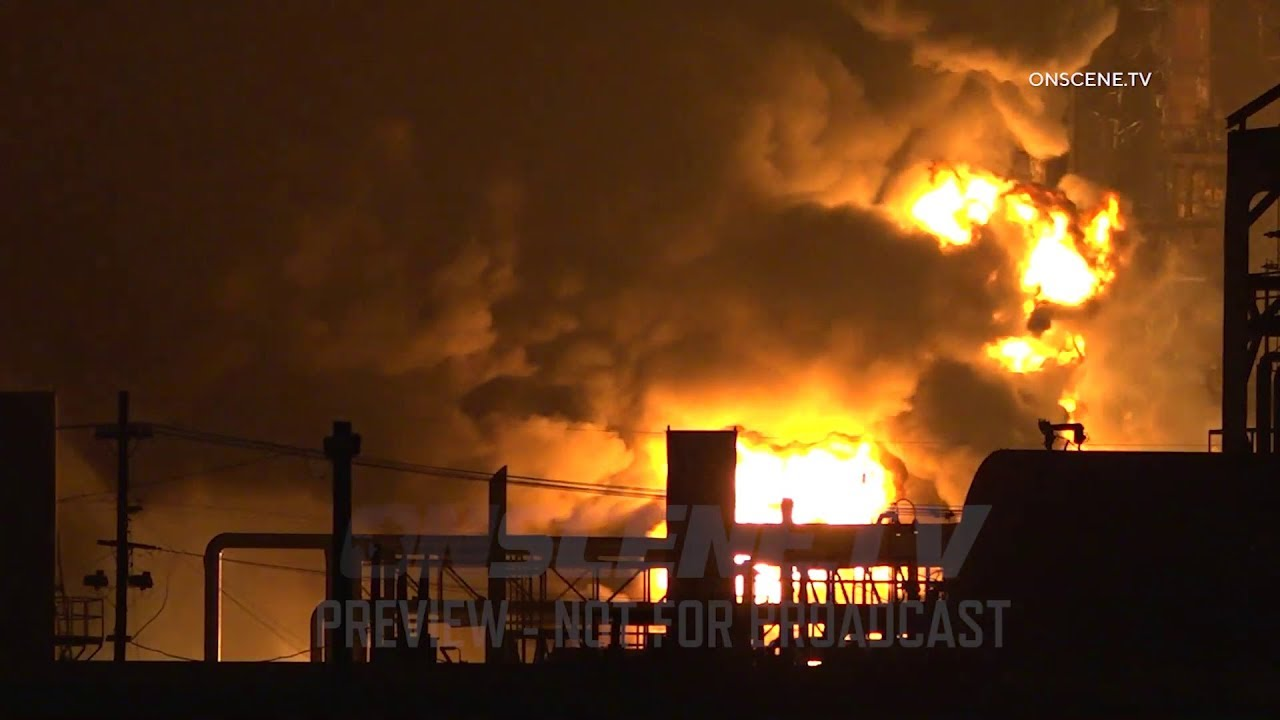 Download TPC Plant Explosion Injures Workers, Evacuates Nearby Towns In Port Neches