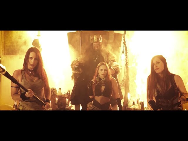 BLESSED HELLRIDE - Bourbon King (Official Video)