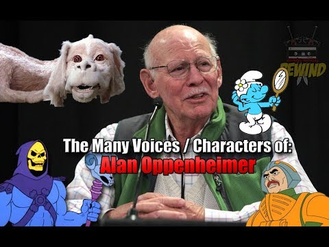 The Many Voices of Alan Oppenheimer  (45+ Characters Featured) HD High Quality