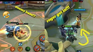 Johnson troll going to enemy's base (mobile legends)