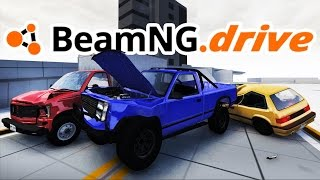 BeamNG.drive Gameplay - Crash Junction! - Let's Play BeamNG.drive