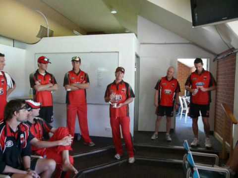 Redbacks recognise Captains 100th one-day match