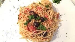 Ton Balıklı Spagetti Tarifi - Pratik Tarif / Yemek Tarifleri - Melis'in Mutfağı