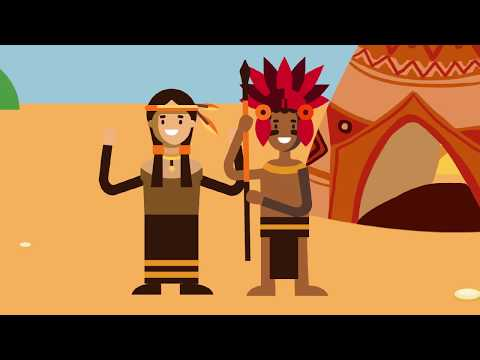 History of Native Americans for Kids - Timelines - Animation