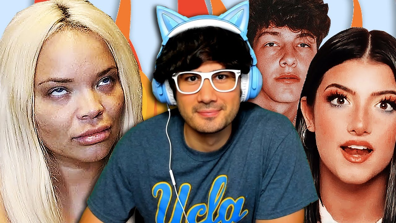 Trisha Paytas GOES OFF, Charli D'Amelio GOES OFF, Tayler Holder STEALS From Corey La Barrie