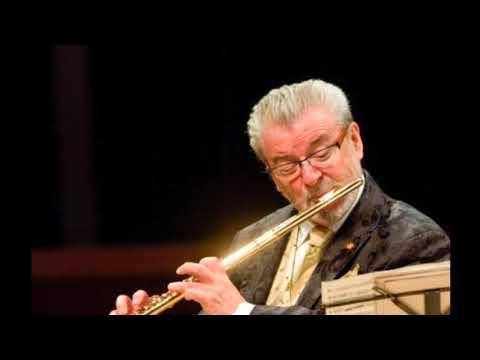 P. Gaubert: Notturno et Allegro scherzando flute James Galway, piano Philipp Moll