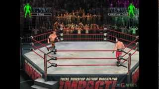 TNA Impact! - Gameplay PS2 HD 720P