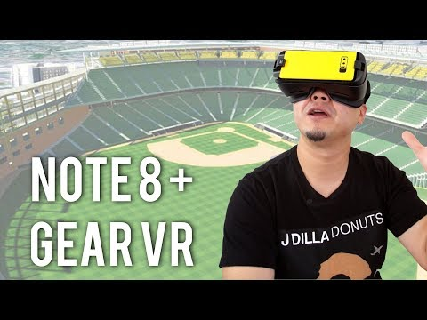 Galaxy Note 8 + Gear VR: Unreal Sports Experience!