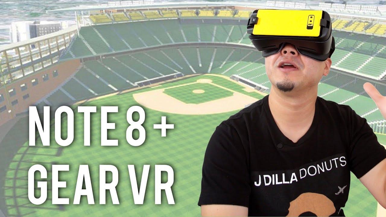 מאוד Galaxy Note 8 + Gear VR: Unreal Sports Experience! - YouTube YB-37