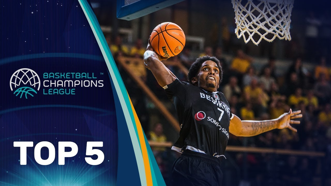 Top 5 Plays | Tuesday - Gameday 12 | Basketball Champions League 2019