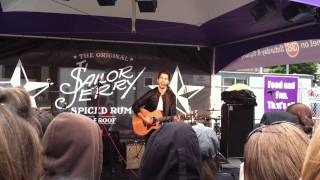 """Andy Grammer - """"Keep Your Head Up"""" - Boston, June 24 2011"""