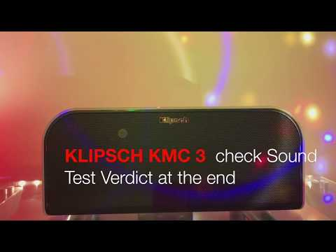 KLIPSCH KMC3 Sound Test and Review