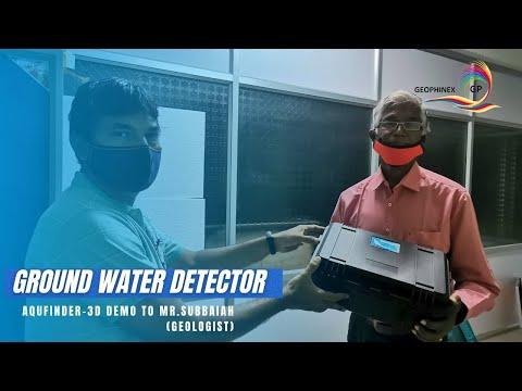 Aqufinder-3D demo to Mr.Subbaiah (Geologist)