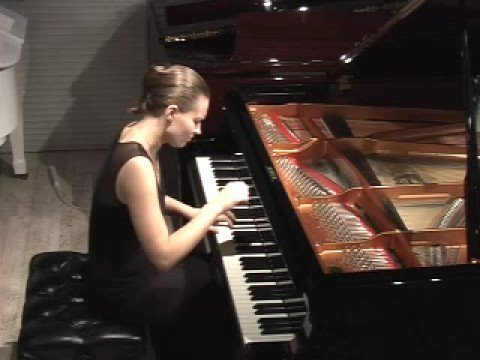 Anna Shelest plays Mozart Sonata in B-flat K 281 2/3