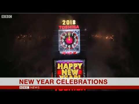 2018 January 01 BBC One Minute World News