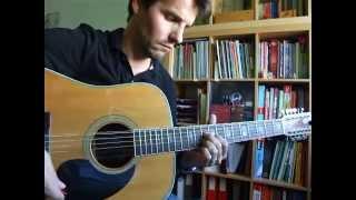 Miles Remains - Roy Harper (guitar tutorial)