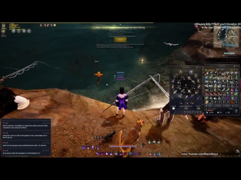 Black Desert Online (NA) Treasure of Valencia Part 2 Quest on Witch! Stream 5/4/17