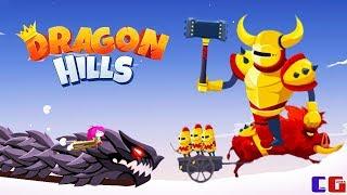 Dragon Hills #7 Уничтожаю БОССОВ Мультяшная игра для детей про Ручного ДРАКОНА Принцессы