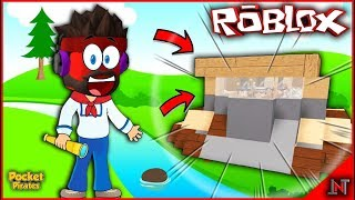 ROBLOX Indonésia #184 Pocket Pirates | Este tanque do navio da caverna de Kira #KUTILFANS