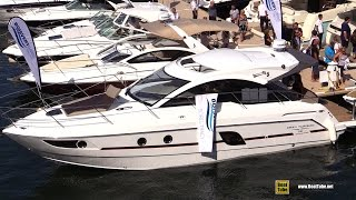 2016 Beneteau Gran Turismo 38 Speciale Motor Yacht - Walkaround - 2015 Montreal In Water Boat Show