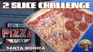 2 SLICE CHALLENGE NY Pizza Review - Santa Monica Pizza Kitchen (Santa Monica, CA)