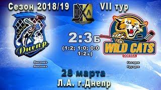 Прямой эфир 6-й игры ПХЛ-2008 «Днепр»(Херсон) - «Дикие Коты»(Одесса)